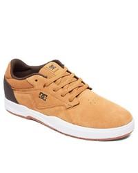gelbe Wildleder niedrige Sneakers von DC Shoes