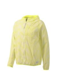 Gelbe Windjacke von adidas