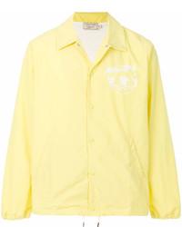 gelbe Windjacke von MAISON KITSUNE