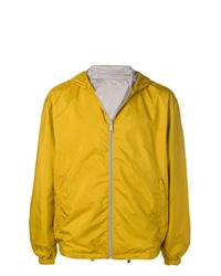 gelbe Windjacke von Prada