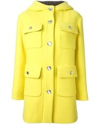 gelber Mantel von Moschino Cheap & Chic