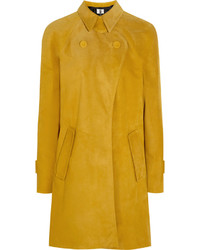 gelber Mantel von Topshop