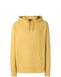 gelber Pullover mit einem Kapuze von Belstaff