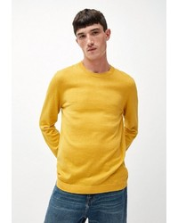 gelber Pullover mit einem Rundhalsausschnitt von Armedangels