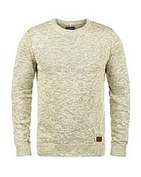 gelber Pullover mit einem Rundhalsausschnitt von BLEND