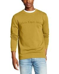 gelber Pullover von Calvin Klein Jeans