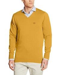 gelber Pullover von Spagnolo