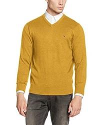 gelber Pullover von Tommy Hilfiger