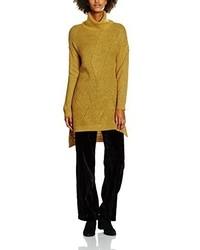 gelber Rollkragenpullover von Vero Moda