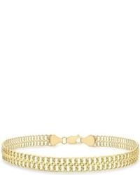 Gelbes Armband von Carissima Gold