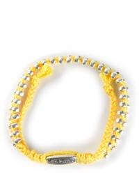 gelbes Armband von Paul Smith