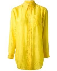 gelbes Businesshemd von Ralph Lauren