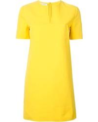 Gelbes gerade geschnittenes kleid original 10073256