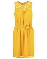 gelbes gerade geschnittenes Kleid von Anna Field