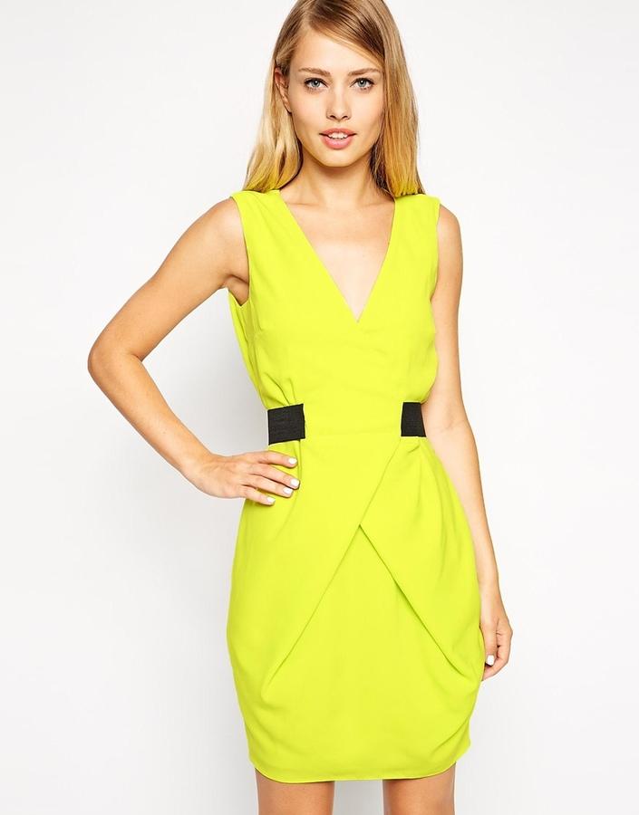 de0030b67bfe gelbes gerade geschnittenes Kleid von Asos   Wo zu kaufen und wie zu ...