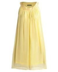 gelbes gerade geschnittenes Kleid von Esprit