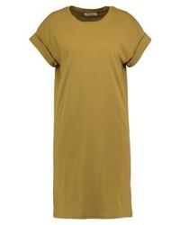gelbes gerade geschnittenes Kleid von Moss Copenhagen