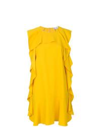gelbes gerade geschnittenes Kleid von RED Valentino