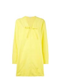 gelbes gerade geschnittenes Kleid von Tomas Maier