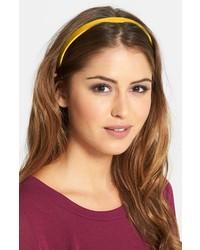 gelbes Haarband