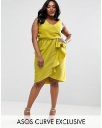 0fb10341605c Modische gelbes Kleid bei Asos für Winter 2019 kaufen   Damenmode