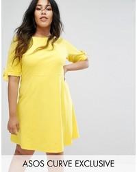 5099cbe317d4 Modische gelbes Kleid von Asos für Winter 2019 kaufen   Damenmode