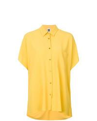 gelbes Kurzarmhemd