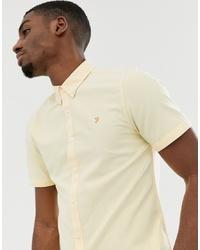 gelbes Kurzarmhemd von Farah