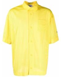 gelbes Kurzarmhemd von Reebok