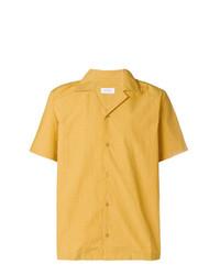 gelbes Kurzarmhemd von Saturdays Nyc