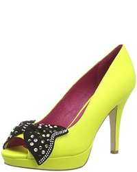 gelbes Schuhwerk von Ladystar By Daniela Katzenberger