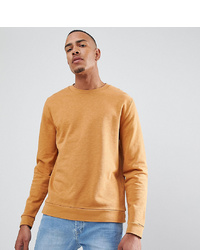 gelbes Sweatshirt von ASOS DESIGN