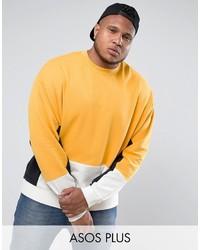 gelbes Sweatshirt von Asos