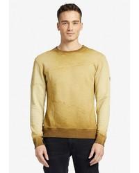 gelbes Sweatshirt von khujo