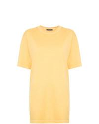gelbes T-Shirt mit einem Rundhalsausschnitt von Jac+ Jack
