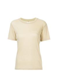 gelbes T-Shirt mit einem Rundhalsausschnitt von Song For The Mute
