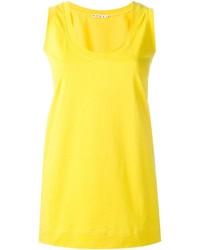 gelbes Trägershirt von Marni