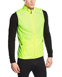 Gelbgrüne Ärmellose Jacke von Jack & Jones