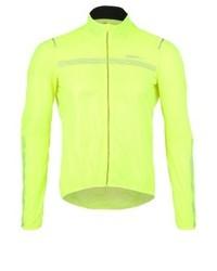 gelbgrüne bedruckte Jacke von Craft