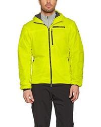 gelbgrüne Jacke von adidas