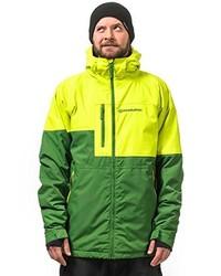 gelbgrüne Jacke von Horsefeathers
