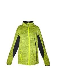 gelbgrüne Jacke