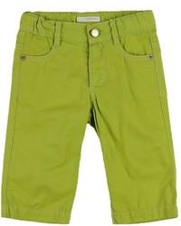 gelbgrüne Jeans