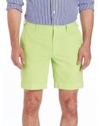gelbgrüne Shorts