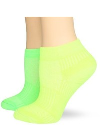gelbgrüne Socken