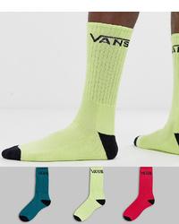 gelbgrüne Socken von Vans