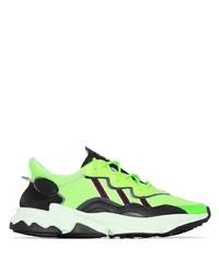 gelbgrüne Sportschuhe von adidas