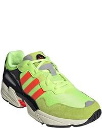 gelbgrüne Sportschuhe von adidas Originals
