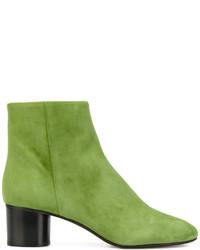 gelbgrüne Stiefel von Isabel Marant
