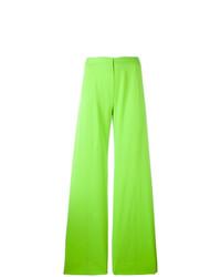 gelbgrüne weite Hose von Emanuel Ungaro Vintage